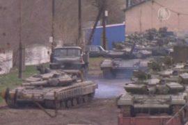 Украинские танки эвакуируют из Крыма