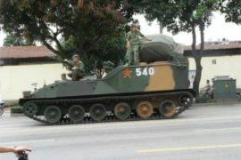КНР: протест против завода подавили танками