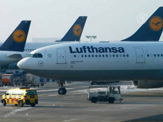 Lufthansa отменила 4 тысячи рейсов из-за пилотов