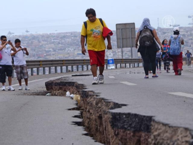 После второго землетрясения в Чили жертв нет