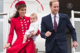Кейт и Уильям взяли сына в поездку