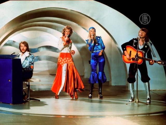 ABBA отметила юбилей победы на «Евровидении»