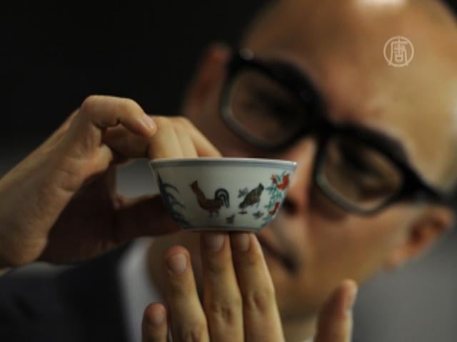 Китайскую пиалу продали за рекордную сумму