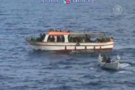 Африканцы осаждают берега Италии