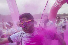 Цветной забег впервые прошёл во Франции