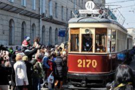 115-й день рождения трамвая отпраздновали в Москве