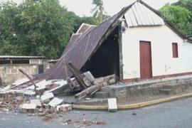 В Никарагуа снова землетрясение