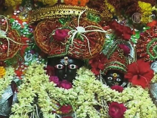 Индуисты отмечают день Ханумана