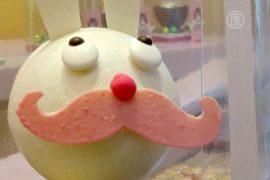 В Бельгии создали шоколадного зайца-хипстера