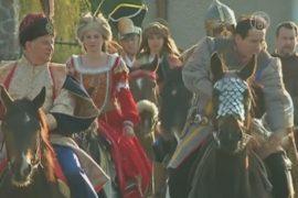 Паломники из Польши отправились в Рим на лошадях