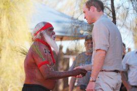 Уильям и Кейт посетили аборигенов в Австралии