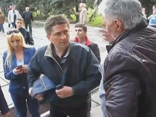 Найдено видео с депутатом Рыбаком в день похищения