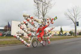 Футбольный велосипед построил немец Диди Сенфт
