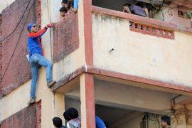 В Индии в депутаты баллотируется человек-паук