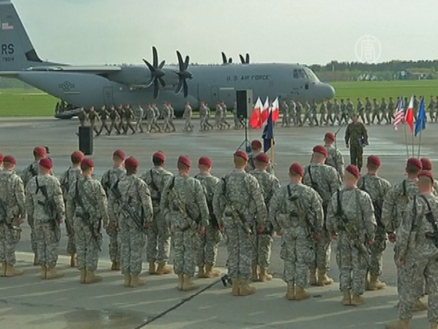 НАТО и Россия параллельно проводят военные учения