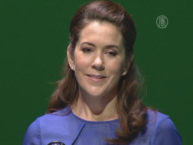 Принцесса Дании открыла саммит моды
