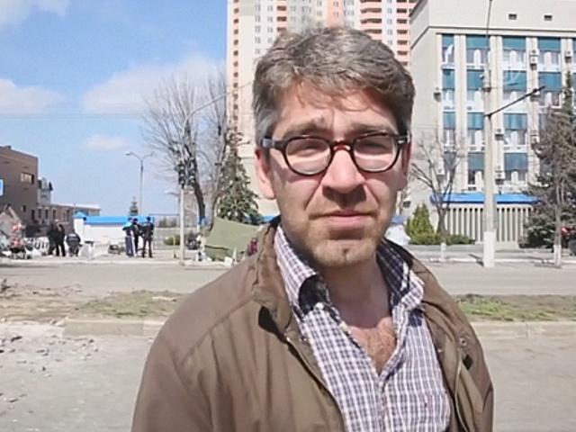 В Славянске отпустили журналиста из США