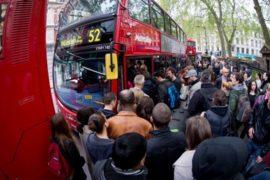 В Лондоне хаос из-за стачки работников метро