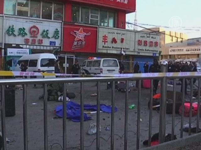 В Урумчи взорвалась бомба, есть жертвы