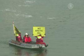 «Гринпис» попытался задержать российский танкер