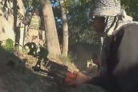 Видео показывает продолжающиеся бои в Сирии