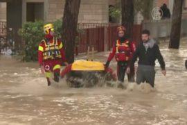 Город в Италии восстанавливается после наводнения
