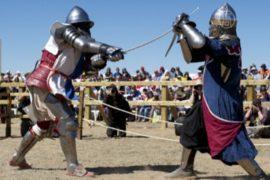 Чемпионат по средневековому бою прошёл в Испании