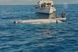 2 лодки с мигрантами перевернулись в Эгейском море