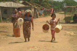 В Мьянме страдают от засухи