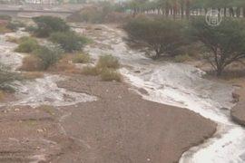 Проливные дожди обрушились на Израиль