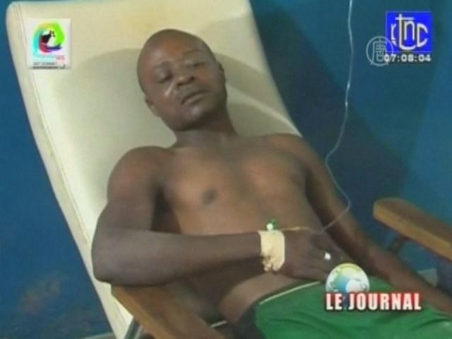 После футбола в Конго случилась давка