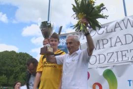 104-летний бегун установил рекорд Европы