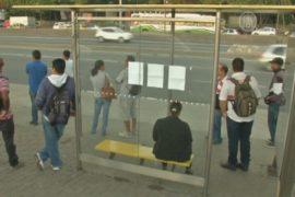 Автобусная забастовка парализовала Рио-де-Жанейро