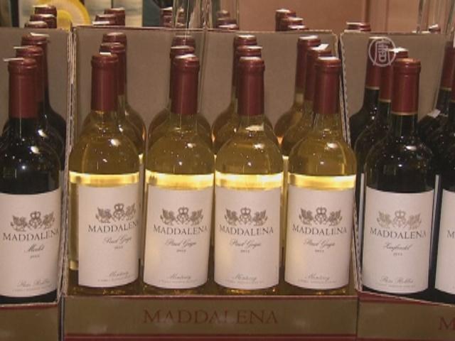 США — крупнейший в мире рынок вина