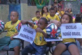 В Бразильских трущобах – против ЧМ по футболу