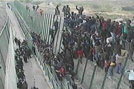 Африканцы осаждают границы Испании