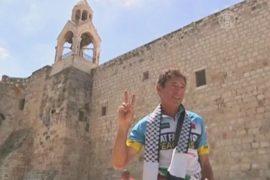 Марафонец пробежал 1500 км ради мира