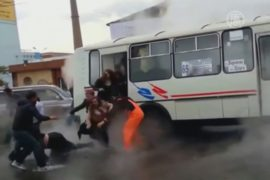Гастарбайтер спас пассажиров автобуса от кипятка