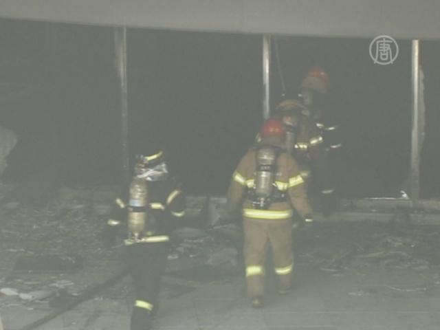 Пожар на автостанции близ Сеула, 7 погибших
