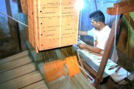 Индийцы надеются на возрождение ручного ткачества