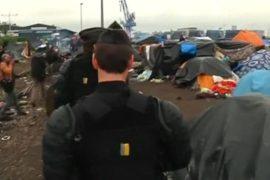 Во Франции эвакуируют три лагеря иммигрантов