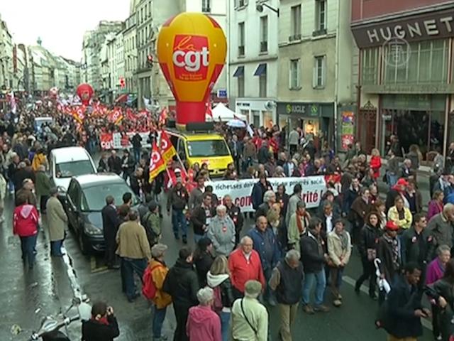 Безработица во Франции продолжает расти