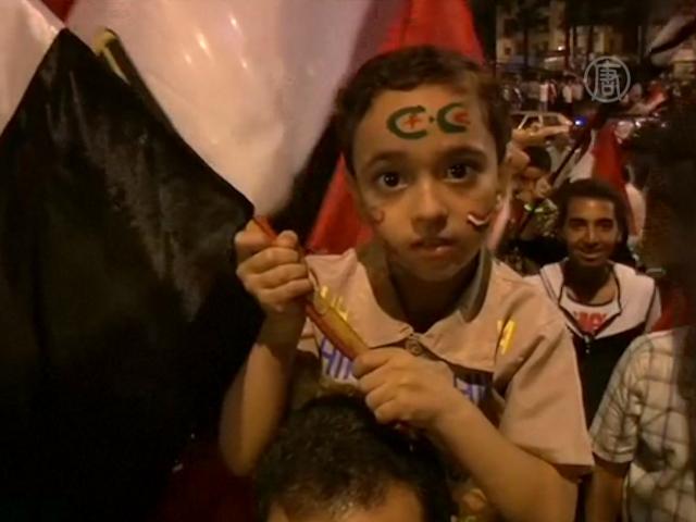 В Каире празднуют победу фельдмаршала аль-Сиси