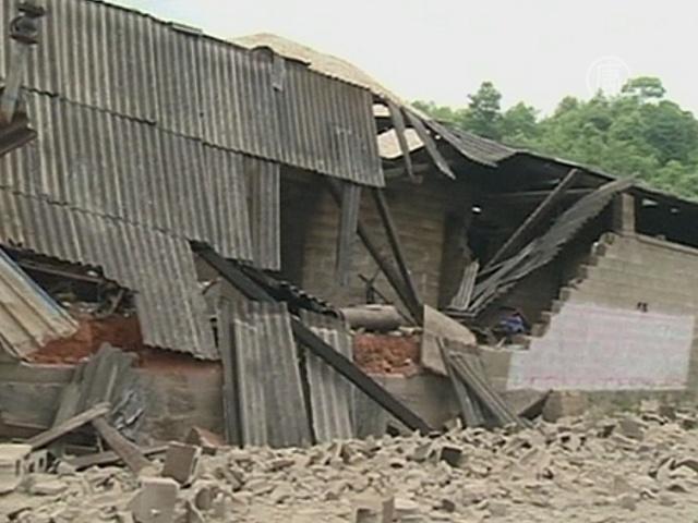 В Китае – землетрясение магнитудой 6,1