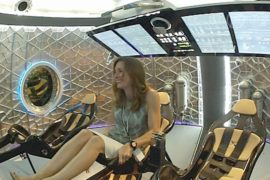SpaceX будет возить людей к МКС