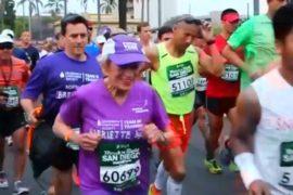 91-летняя американка пробежала марафон