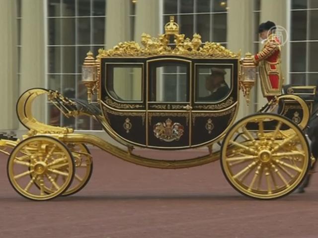 Королева Елизавета испытала новую карету