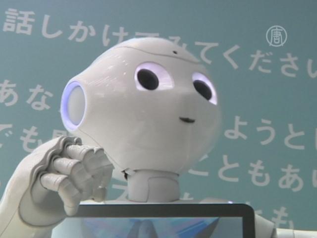 Мобильные в Японии будут продавать роботы