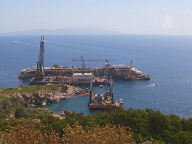 Costa Concordia отправится в последний путь