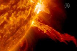 Мощные солнечные вспышки зафиксировали учёные